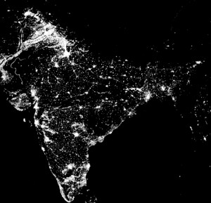 India Nighttime Lights